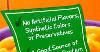 No Artificial Flavors, Synthetic Colors or Preservatives Label