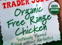 Organic Free Range Chicken Label