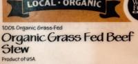 Organic Grass Feed Beef Logo