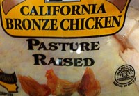 Pasture Raised Chicken Label