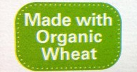 Made With Prganic Wheat Label