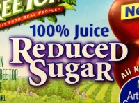 Reduced Sugar Label