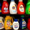 Common laundry detergents with toxic non-biodegradable ingredients